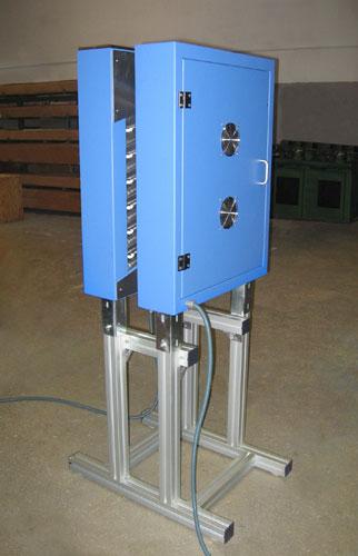 Doble panel infrarrojo