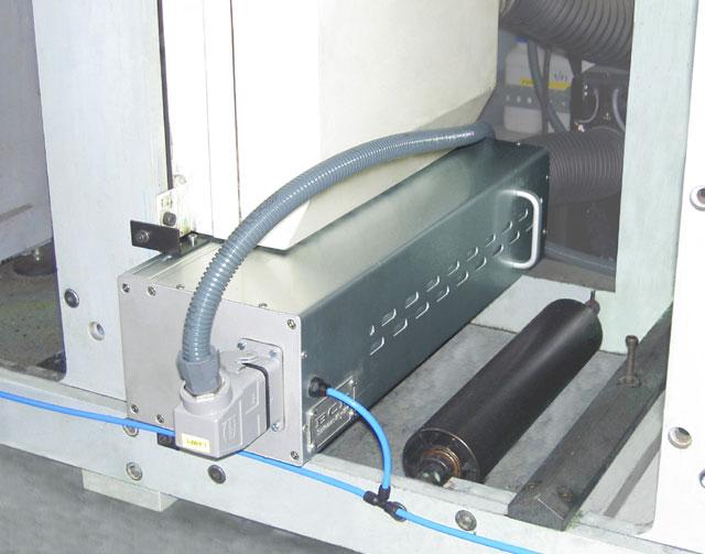 Cabezal UV para rotativa
