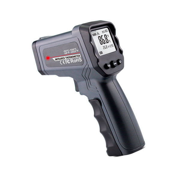 Termómetro infrarrojo industrial